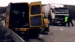 Авария в маршрутке